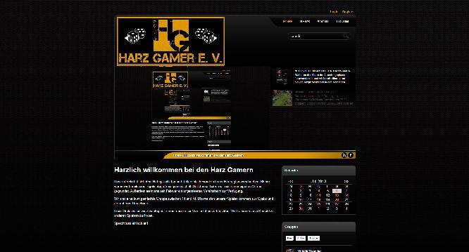 Neue Webseite für den Harzgamer e.V.