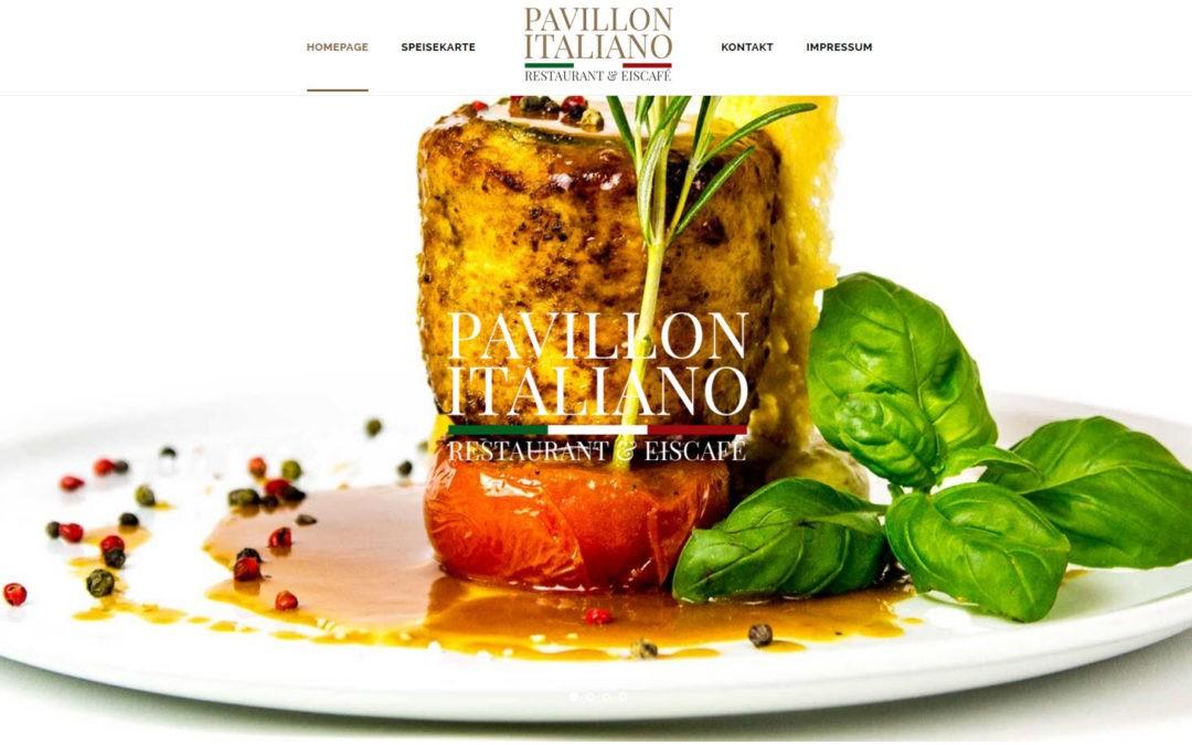 Eine Homepage für den Italiener von nebenan